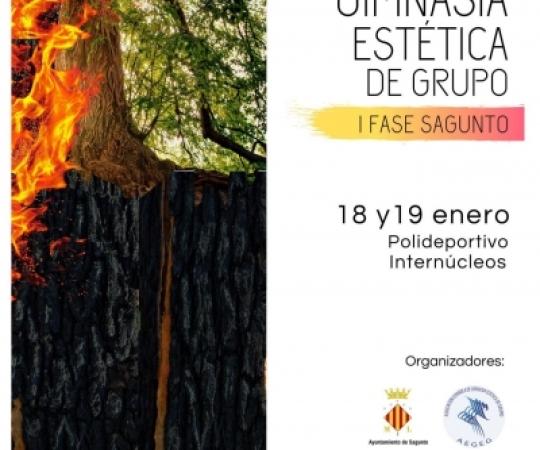 Ja es coneixen els primers detalls de la I Fase de la Copa d'Espanya de Gimnàstica Estètica de Grup a Sagunto 2020
